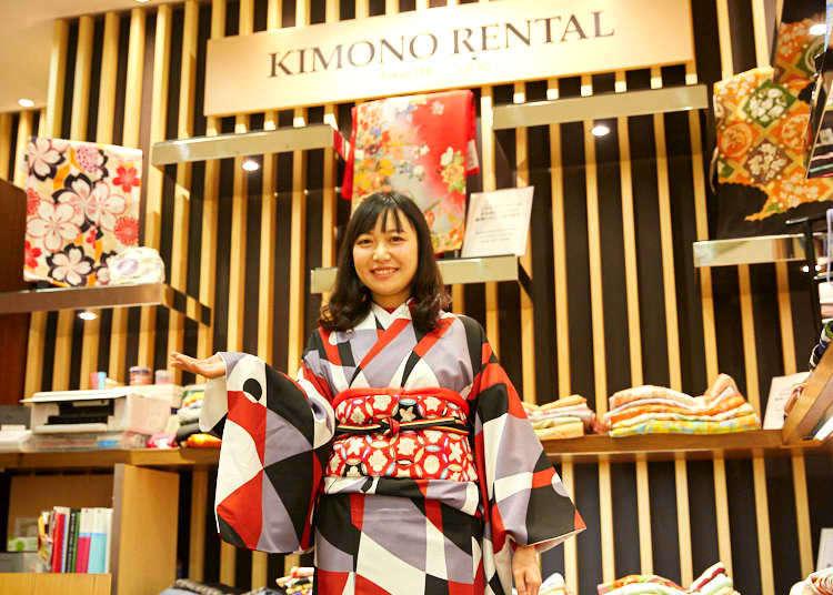 和服、瑜珈、和菓子!中國女孩在「新宿高島屋」的一日初體驗!
