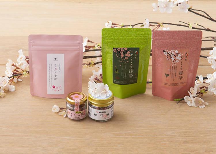 "5. Sakura Tea series from ""AKOMEYA TOYKO"""