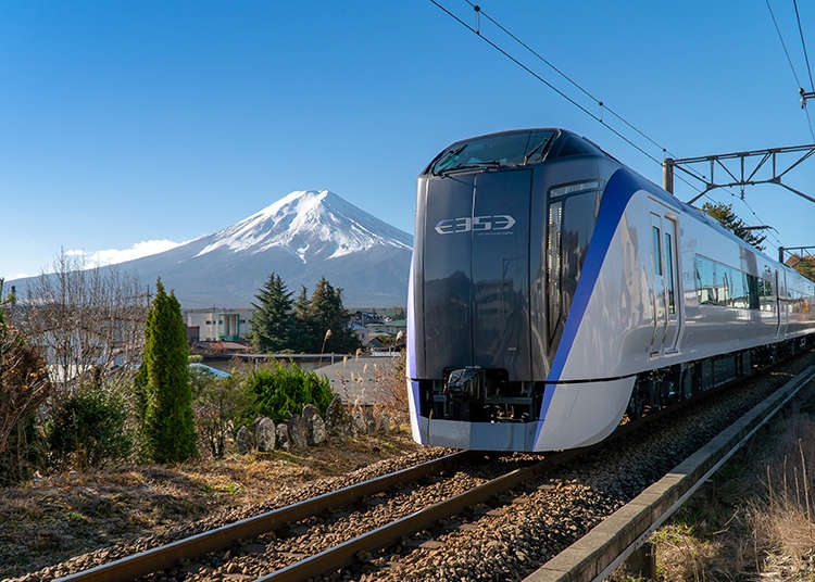 The Fuji Excursion: Japan's Hottest New Train Takes You Right to Mt. Fuji! (Times, Fares and more)