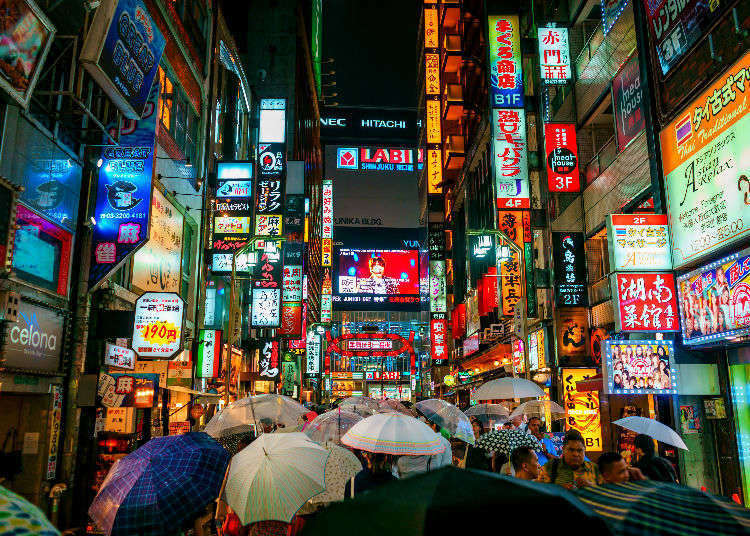Tokyo's Top 25 Neighborhoods on Instagram!