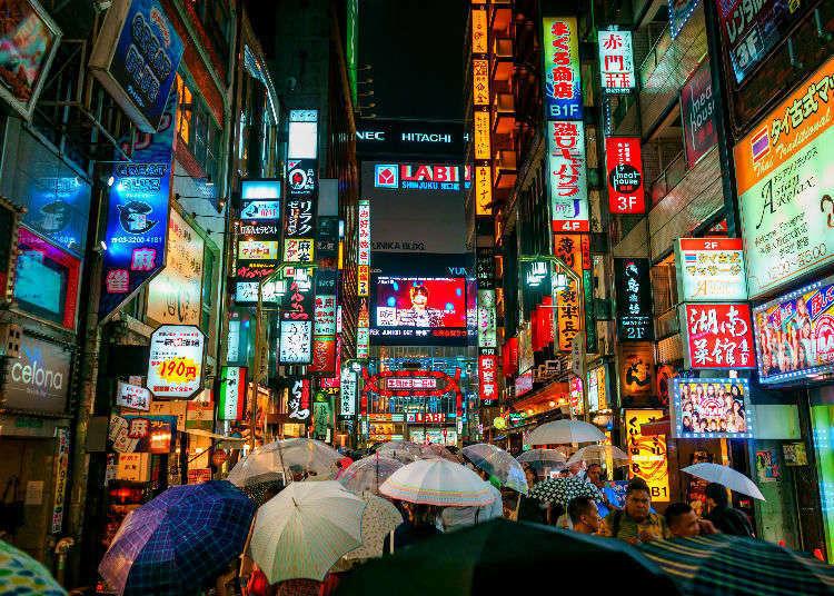 Tokyo's Top 25 Neighborhoods on Instagram!