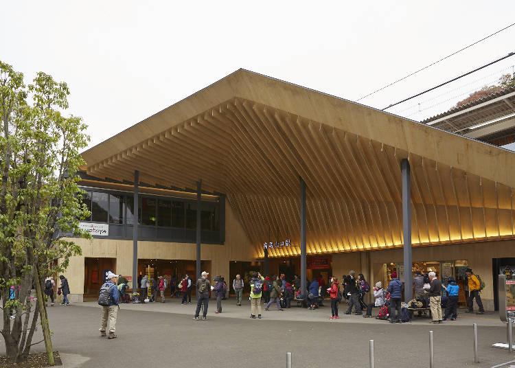 高尾山観光のスタートは、京王線「高尾山口駅」から