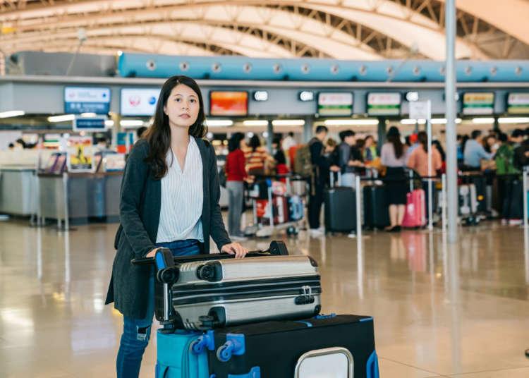 我的行李能託運或手提上飛機嗎?行李限制、公斤等各種疑問!上飛機前必看的行李Q&A