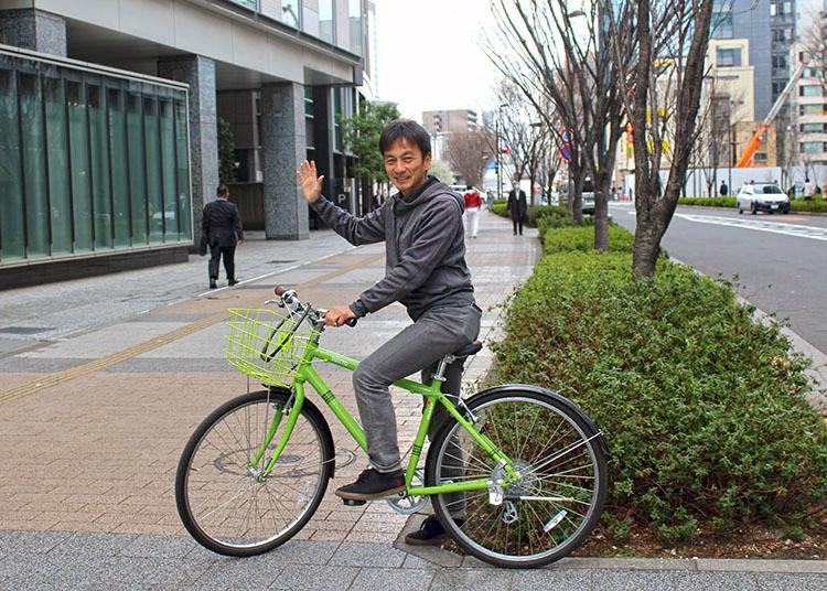 3. Tokyo Discovery Bike Tours