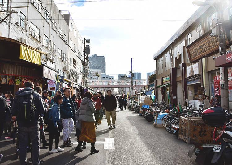 Spring Highlight #2: Tsukiji Outer Market