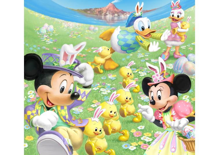"""""""Disney Easter"""" at Tokyo DisneySea"""