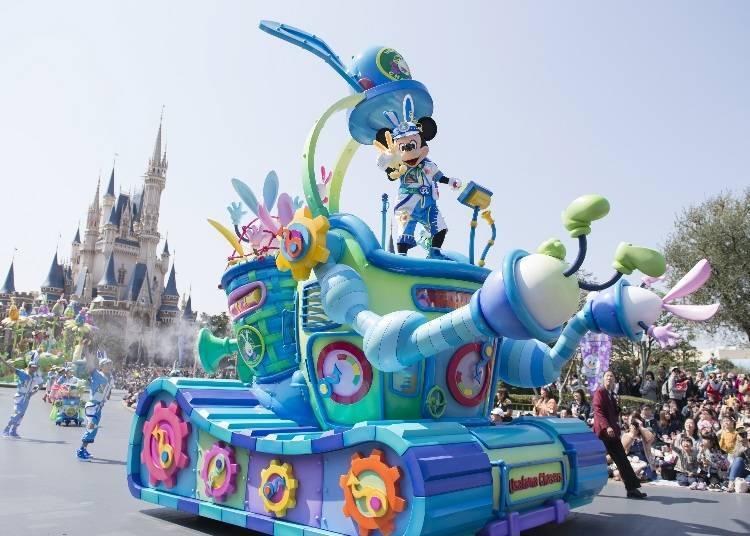 """Disney's Easter"" at Tokyo Disneyland!"