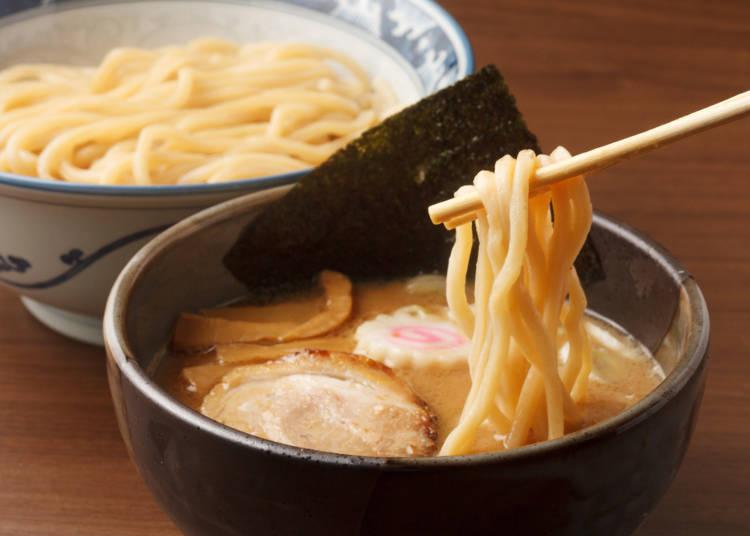 自国でラーメンは食べたけど「つけ麺」は初めて!