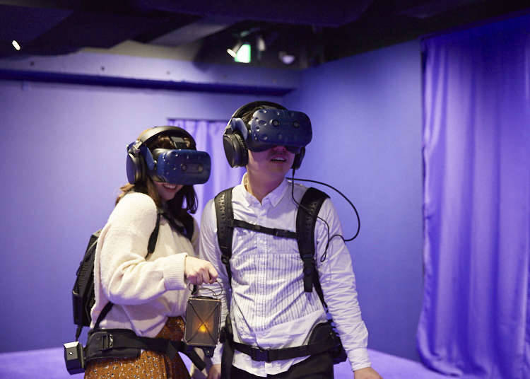 22. Discover a different (virtual) reality in Shibuya!