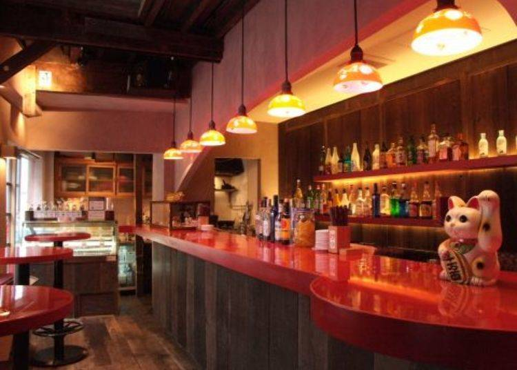 23. Get your pre-game on at the Shibuya Oiran Warm Up Bar