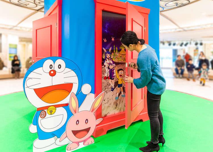 哆啦A夢全面佔領池袋太陽城Sunshine City!到主題特展跟哆啦A夢一起拍照打卡吧!