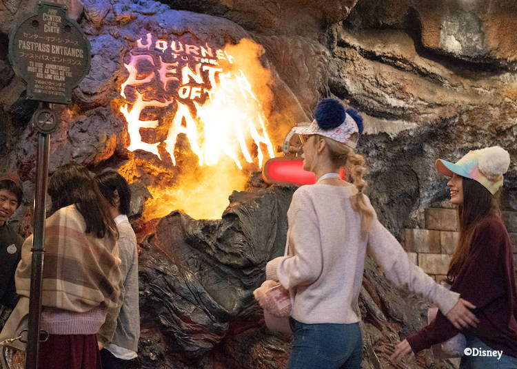 Noon: Get your Tower of Terror FASTPASS®, then Journey to the Center of the Earth
