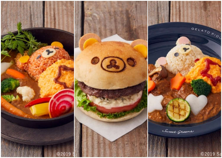 Rilakkuma comes to cafe plates in Tokyo and Kyoto! Check out what's now trending in Japan!