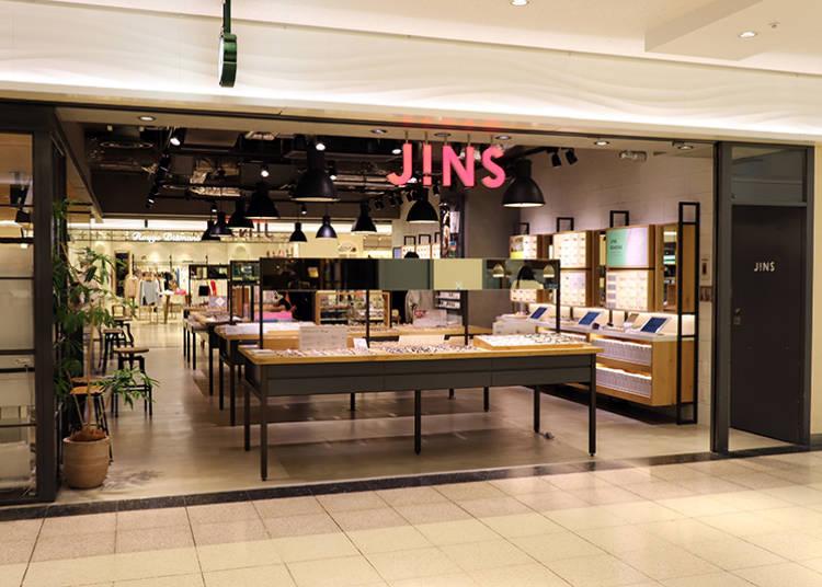 ■日本独自の高品質なメガネが人気「JINS」