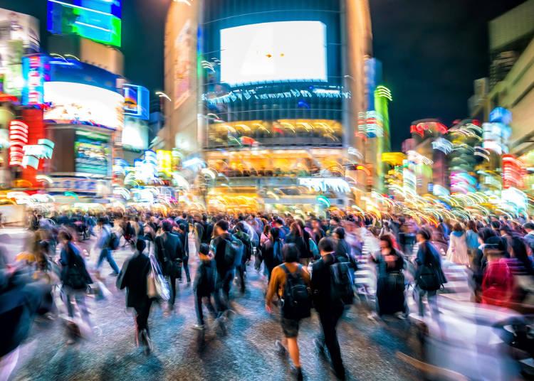 理由2:渋谷は「大都会・東京」のパワーを体感できる!