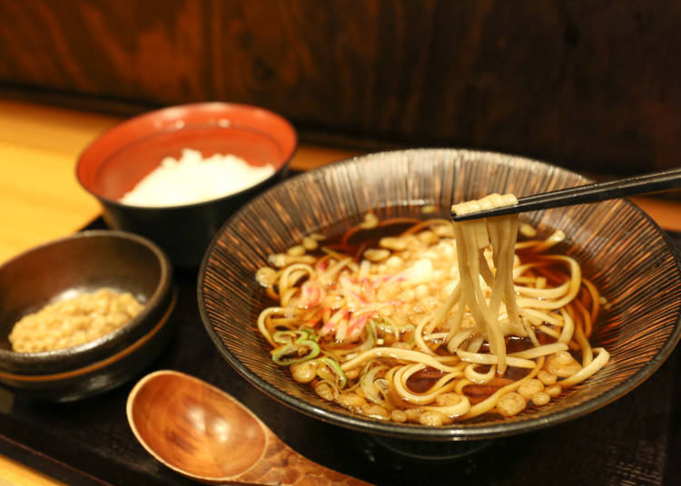 簡單就能品嘗高貴不貴的正統蕎麥麵「蕎麥 冷麥 嵯峨谷 澀谷店」