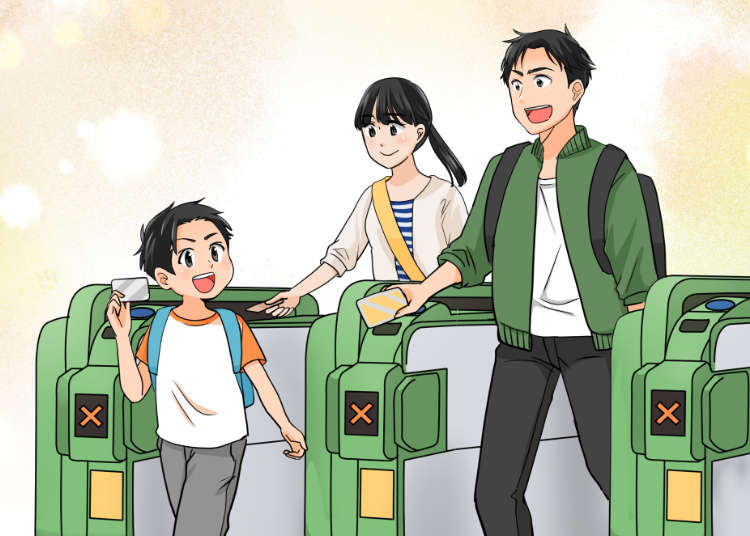 【日本自由行必看】用漫畫帶你了解在日本搭電車時必須注意的12件事