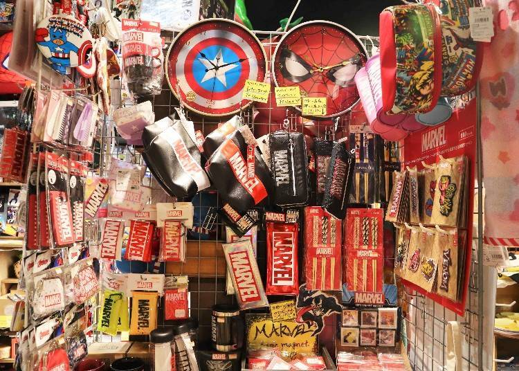 American comic goods, despite being in Japan, are mysteriously popular