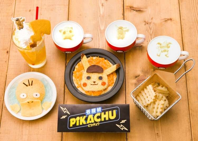 Detective Pikachu Makes His Debut at Tokyo's Pokémon Café!