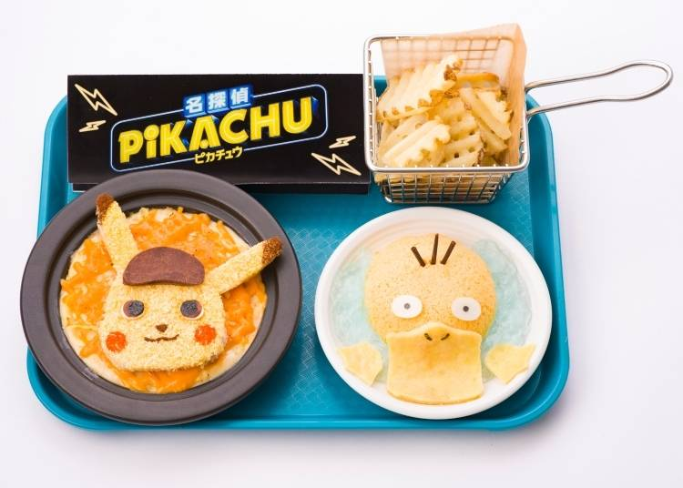 Pokémon Café: 'Detective Pikachu' Sample Food Lineup!