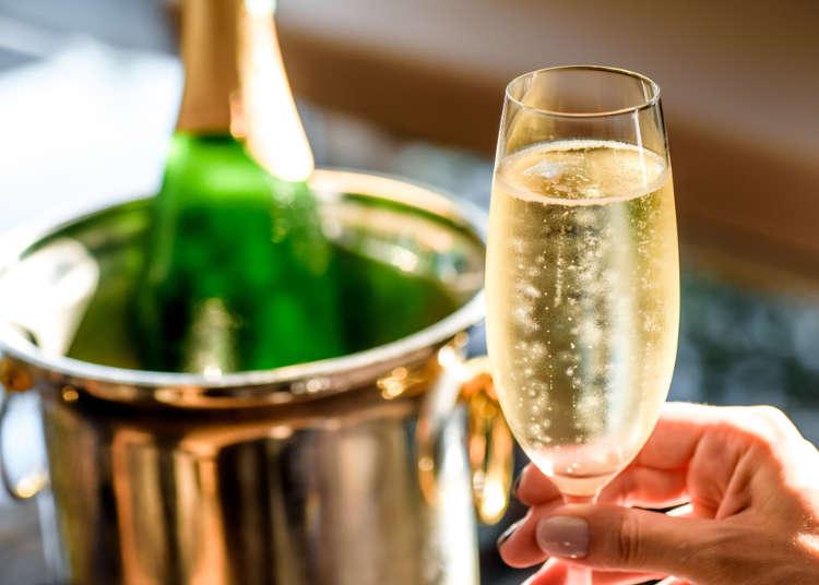 「シャンパン」と「スパークリングワイン」の違いって?バー店主に学ぶ定番のお酒の違い