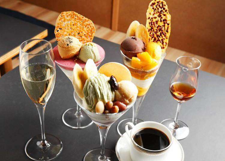 Shime parfait is all the rage in Sapporo. Try one of these at the end of your night out!
