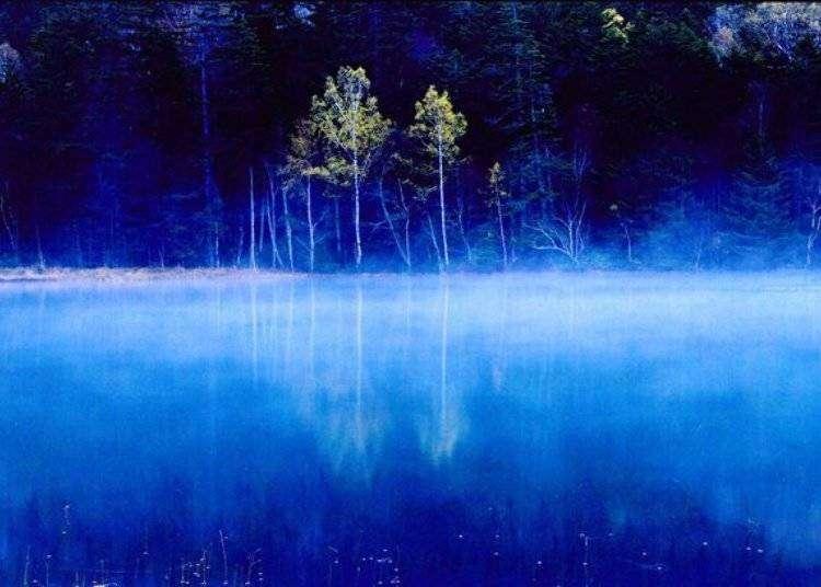 五色に変化する神秘の湖オンネトーで、北海道の大自然を満喫!
