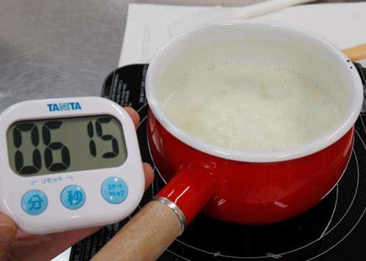 A cheese must-see! The Mascarpone cheese making experience at The Furano Cheese Factory.