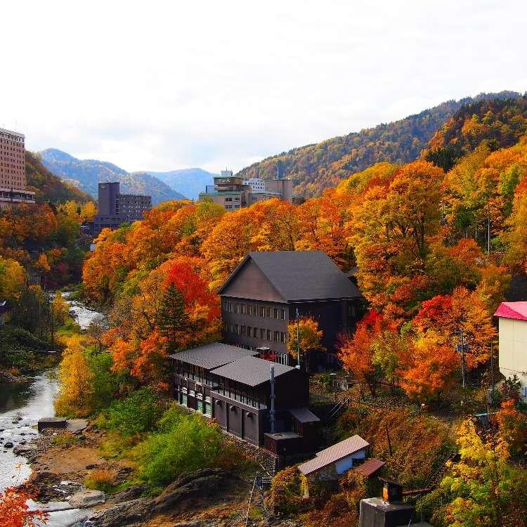 札幌からわずか50分!定山渓で日帰り温泉&ランチを楽しむ