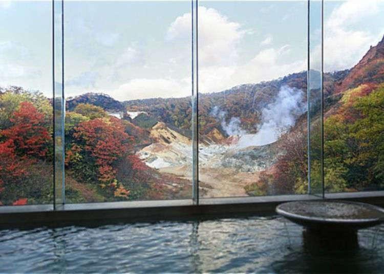登別温泉「第一滝本館」で楽しむ5種の「生きたお湯」めぐり