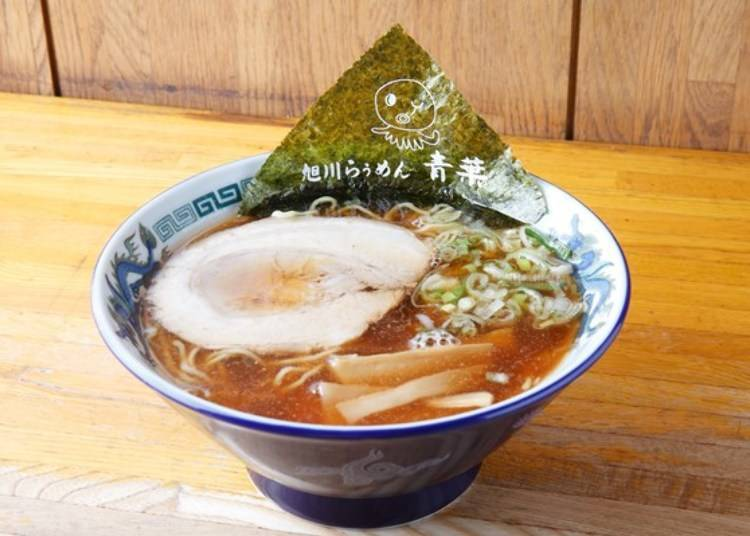 "1. ""Ramen house Aoba,"" the orthodox choice"