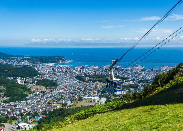 홋카이도 4박 5일 여행 - 삿포로, 오타루, 노보리베츠, 도야코 볼거리 정리!