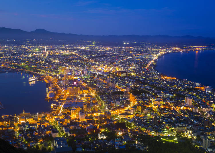 ■Day 1: Exploring the streets of Hakodate! The night view from the top of Mt. Hakodate