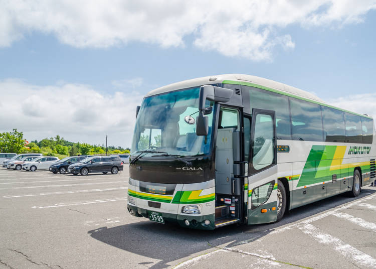 Tip 3: Covering the major sightseeing spots in Hokkaido, easy travel with intercity buses!