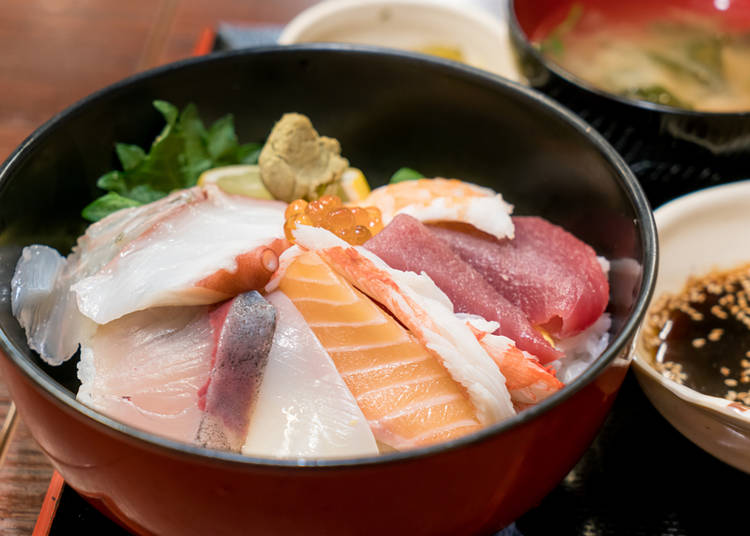 1海鲜盖饭