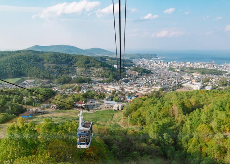 2. Mt. Tengu Ropeway (Cable car)