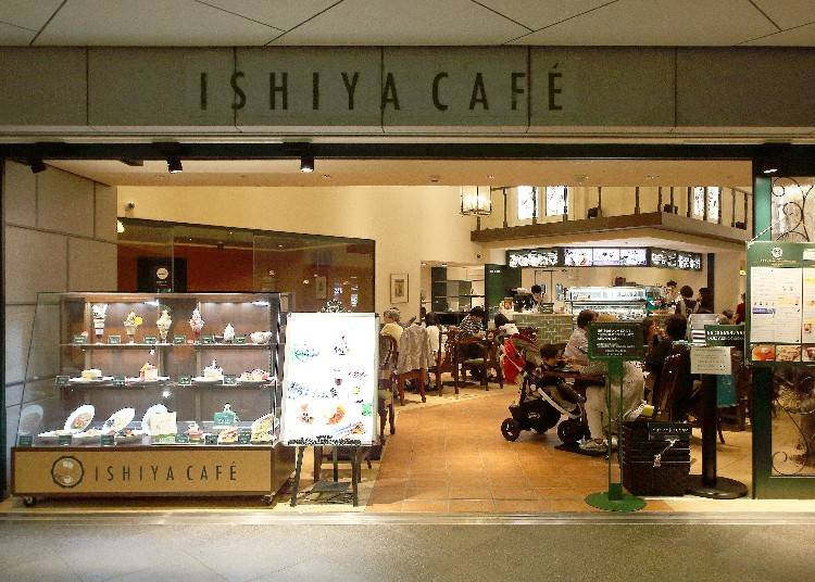 ISHIYA CAFÉ: Famous Confection Shiroi Koibito's Soft-Served Ice Cream Served Here!
