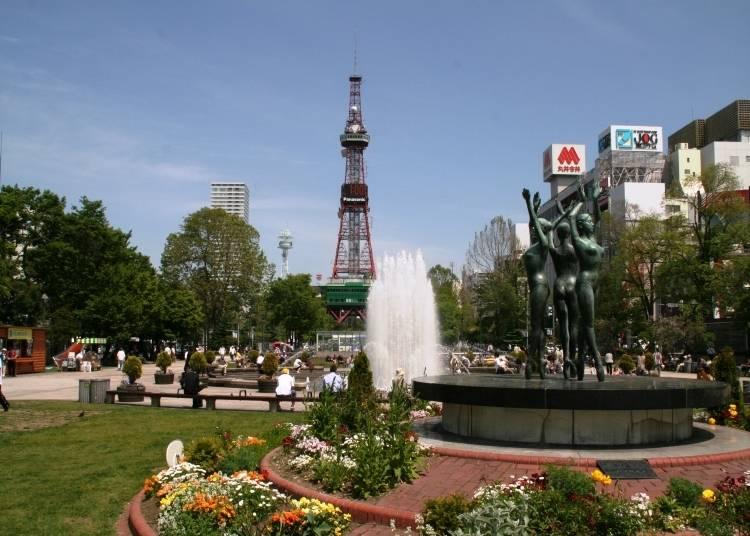 【札幌観光スポット3】札幌の中心にある「大通公園」夏や冬などに開催されるイベントは必見!