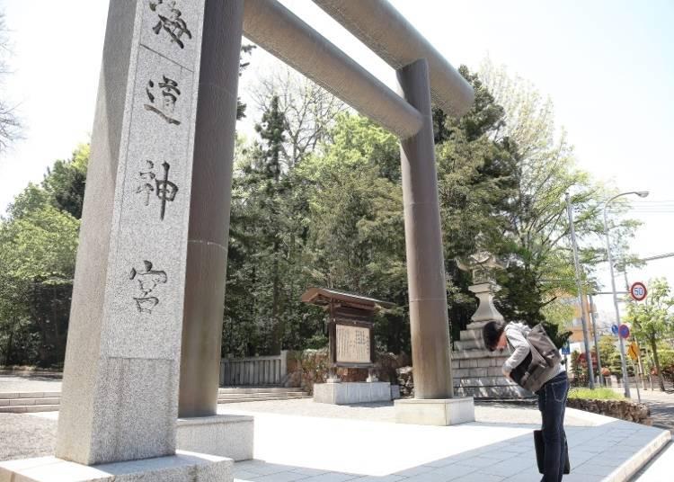 北海道最热闹的神社「北海道神宫」
