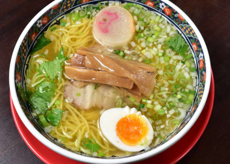 3 Must-Try Shio Ramen Shops in Hakodate!