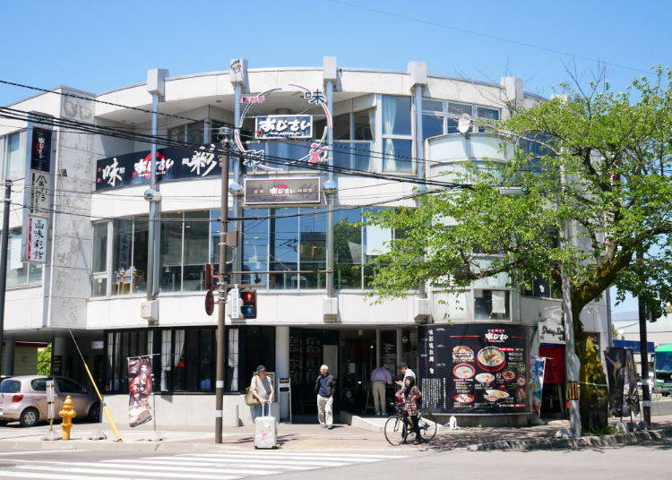 2. Hakodate Menchubo Ajisai Main Shop – One of the most famous in Hakodate