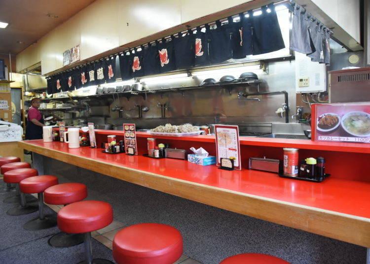 深受當地居民喜愛的人氣拉麵店「函館拉麵鳳蘭」