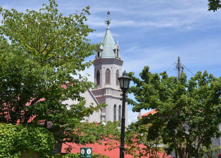 Japan's oldest historical church, the Catholic Church Hakodate Motomachi.