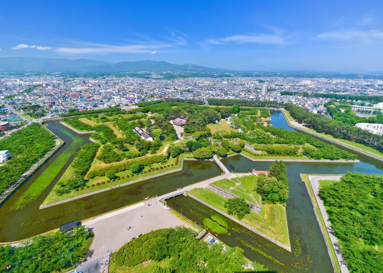 Visiting the Star-Shaped Fortress: Goryokaku Park