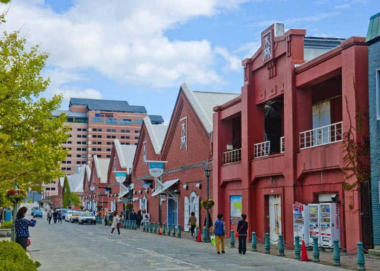 Hakodate Souvenir Shopping at Retro Warehouses: Kanemori Red Brick Warehouse Group