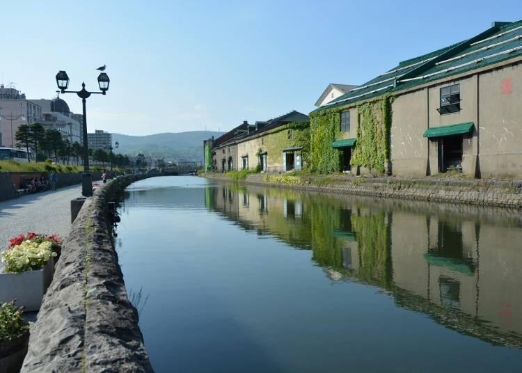 Otaru's Largest Tourist Attraction – The Otaru Canal