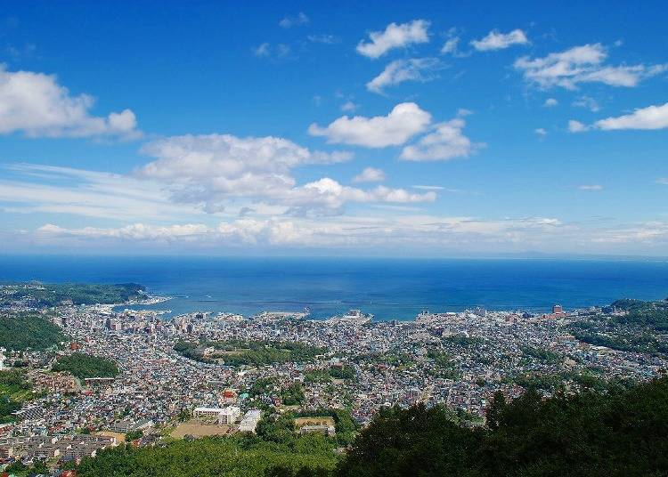 Spectacular City View from Above: The Otaru Mt. Tengu Ropeway
