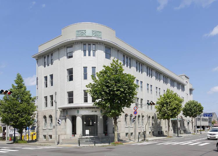 華やかな時代を彩った建築に芸術品がいっぱい!「小樽芸術村」