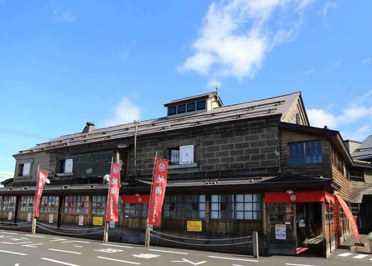 4)酒造り&試飲を楽しむ老舗の「田中酒造 亀甲蔵」
