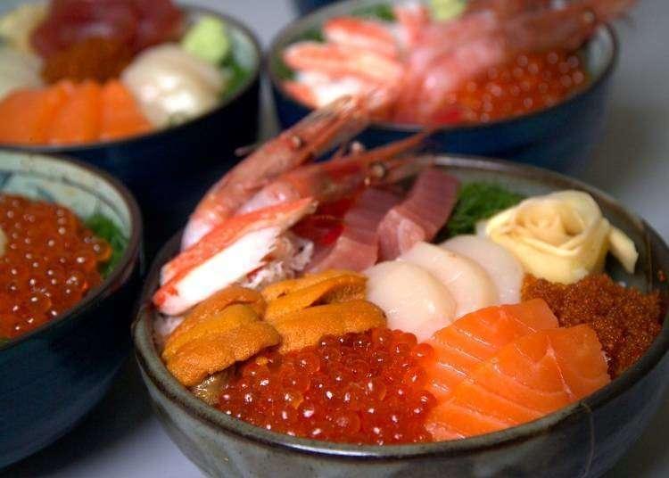 오타루 맛집 - 오타루에서 신선한 해산물을 맛보고 싶다면 이곳!